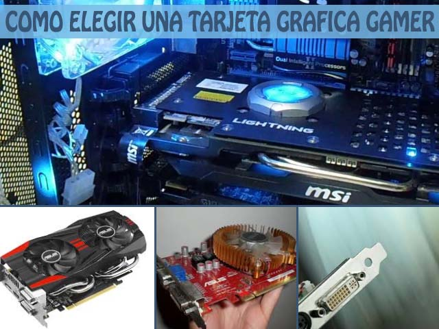 Tarjetas de video gamer